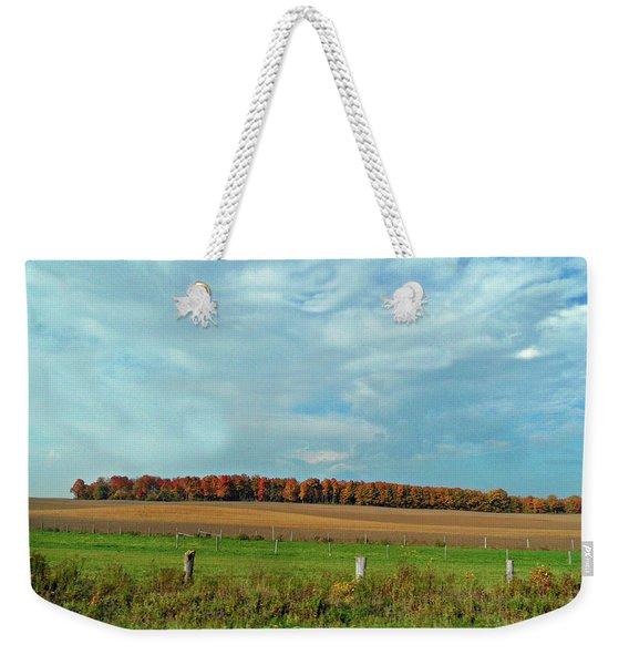 Rolling North Weekender Tote Bag