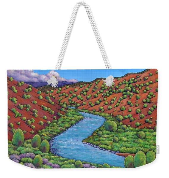 Rolling Rio Grande Weekender Tote Bag