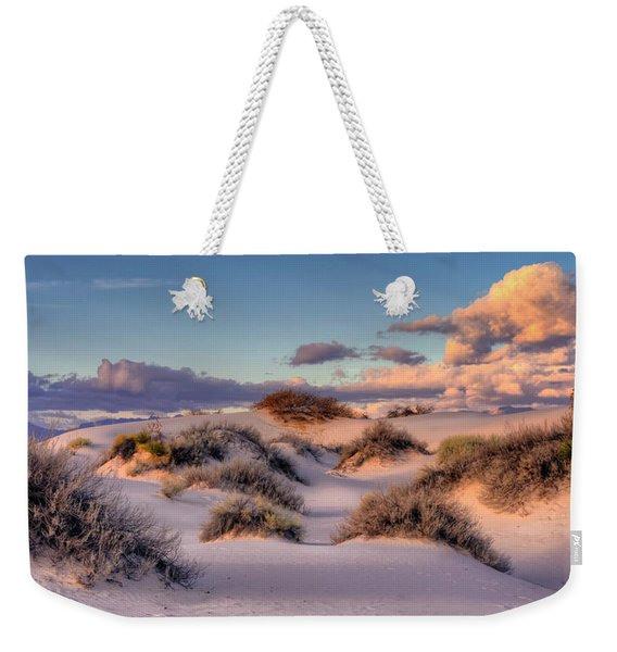 Rolling White Sands  Weekender Tote Bag