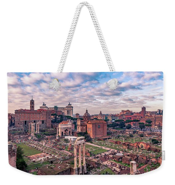 Rome, Past And Present Weekender Tote Bag