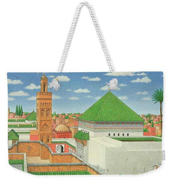 Rooftops, Marrakech Weekender Tote Bag