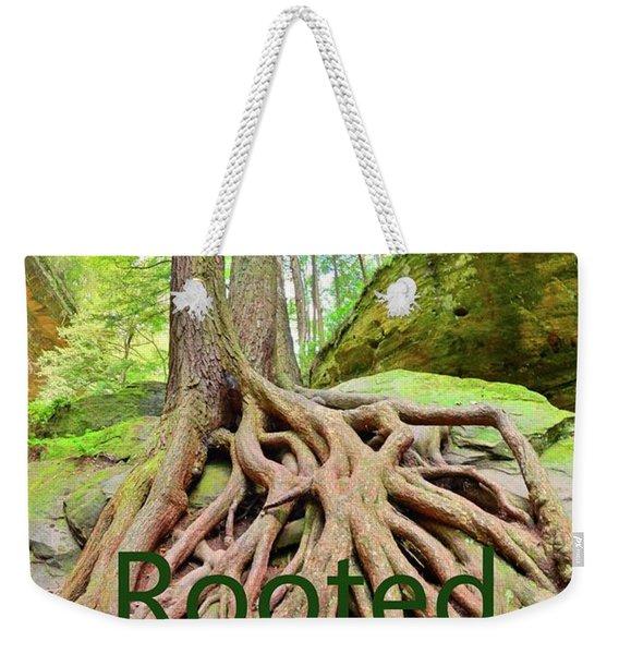 Rooted In God's Word Weekender Tote Bag