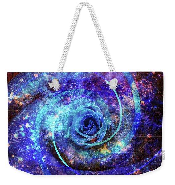 Rosa Azul Weekender Tote Bag