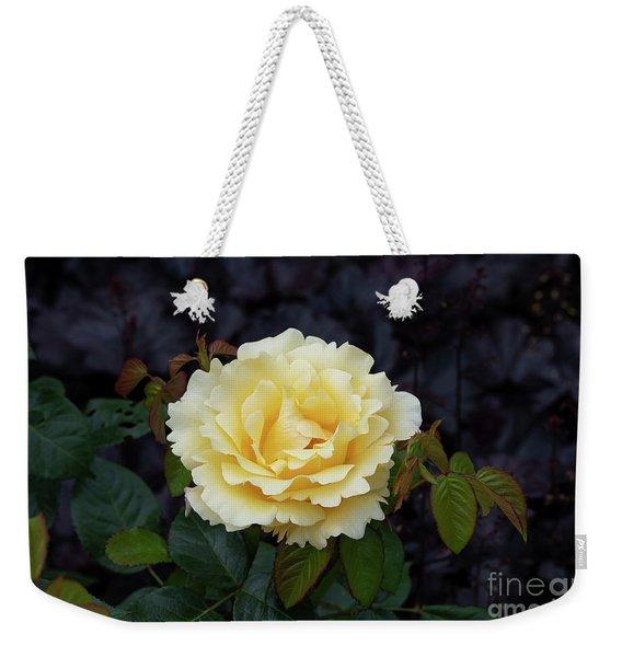 Rosa Glorious Interictira Flower Weekender Tote Bag