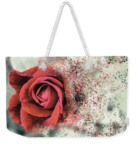 Rose Disbursement Weekender Tote Bag