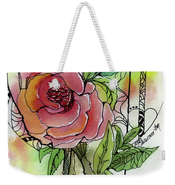 Rose Is Rose Weekender Tote Bag