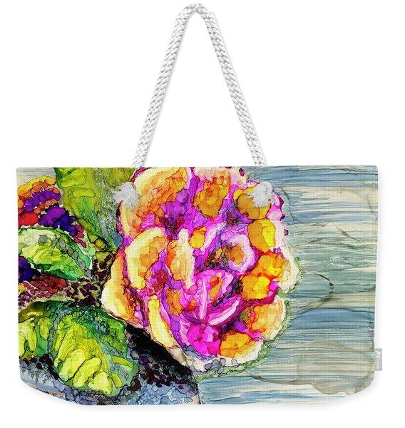 Rose Still Life Weekender Tote Bag