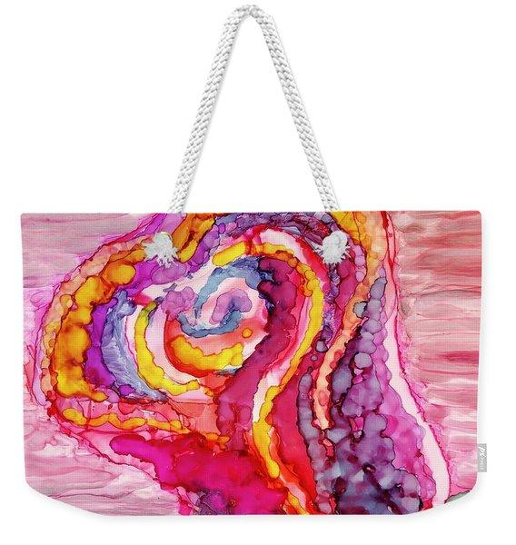 Rosebud Love Weekender Tote Bag