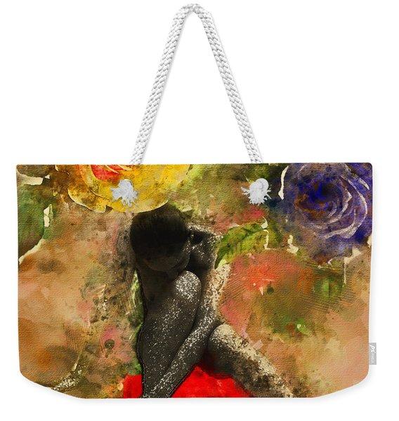 Rosebuds Weekender Tote Bag