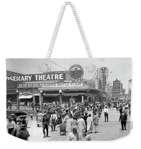Rosemary Theater Santa Monica Weekender Tote Bag