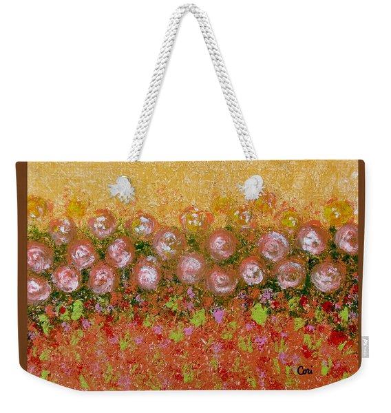 Roses Of Autumn Weekender Tote Bag