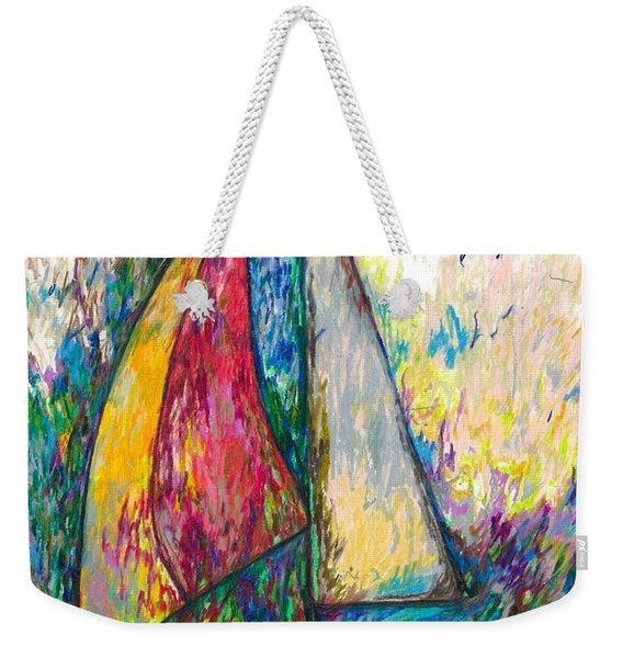 Rough Sailing Weekender Tote Bag