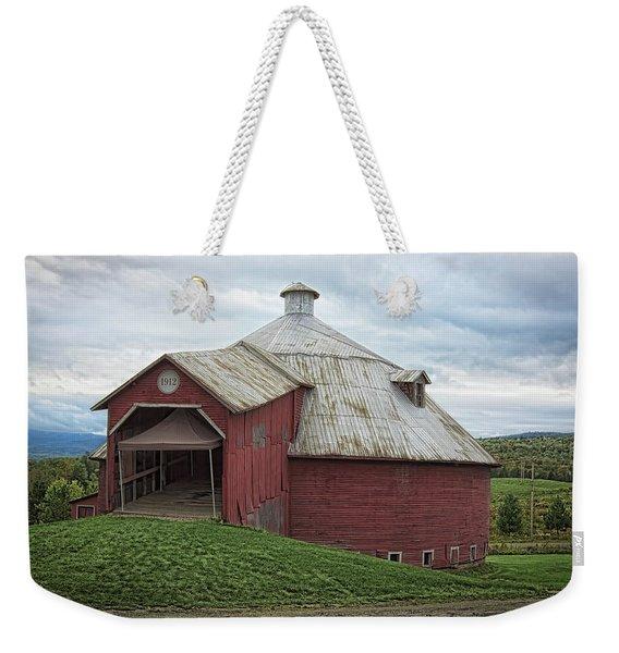 Round Barn - Mansonville, Quebec Weekender Tote Bag