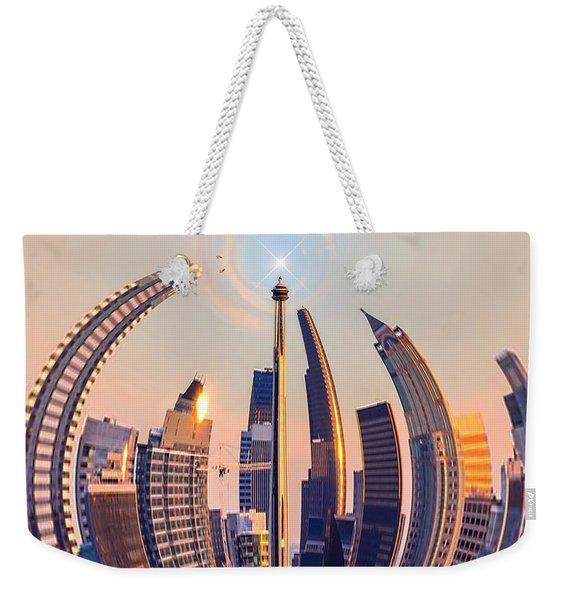 Round The City Weekender Tote Bag