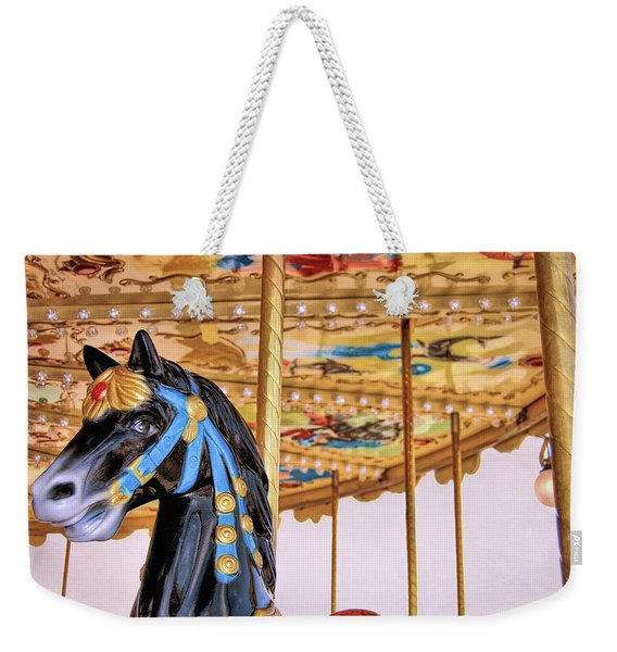 Weekender Tote Bag featuring the photograph Roundabout by JAMART Photography