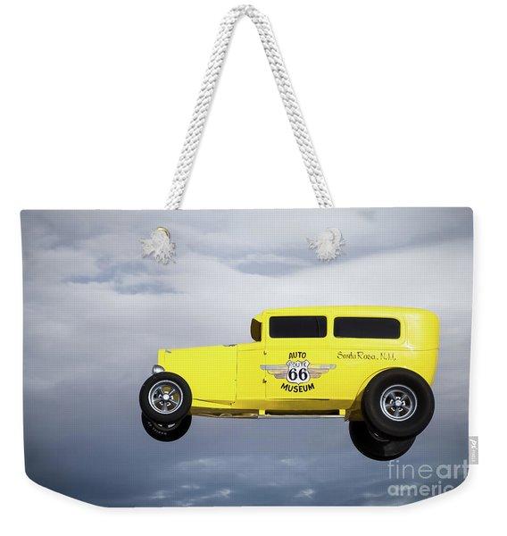 Route 66 Auto Museum  Weekender Tote Bag