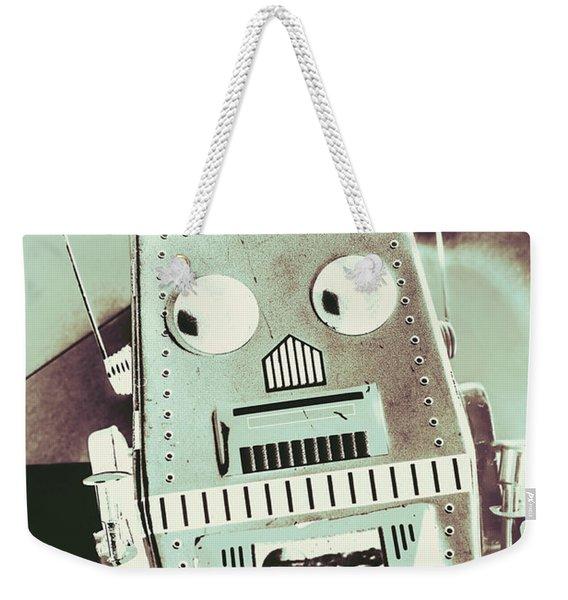 Rover 001 Weekender Tote Bag