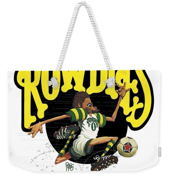 Rowdies Old School Weekender Tote Bag