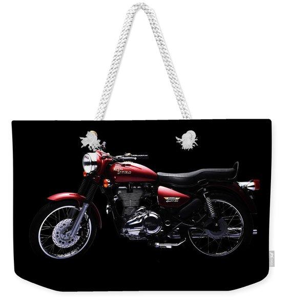 Royal Enfield Bullet Electra Efi Weekender Tote Bag