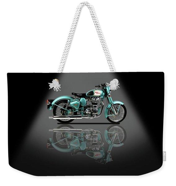 Royal Enfield Bullet Spotlight Weekender Tote Bag