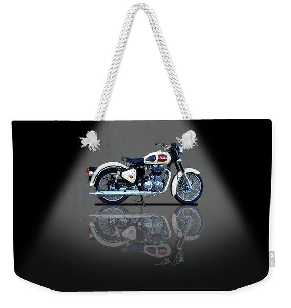 Royal Enfield Classic 500 Spotlight Weekender Tote Bag