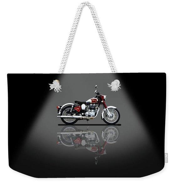 Royal Enfield Classic Chrome Spotlight Weekender Tote Bag
