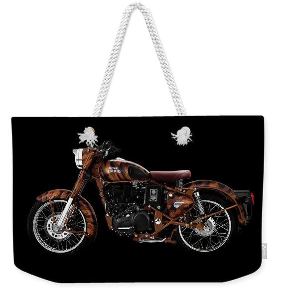 Royal Enfield Classic Desert Storm Weekender Tote Bag
