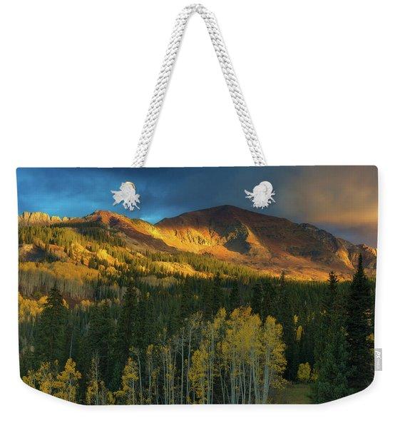 Ruby Range Sunrise Weekender Tote Bag