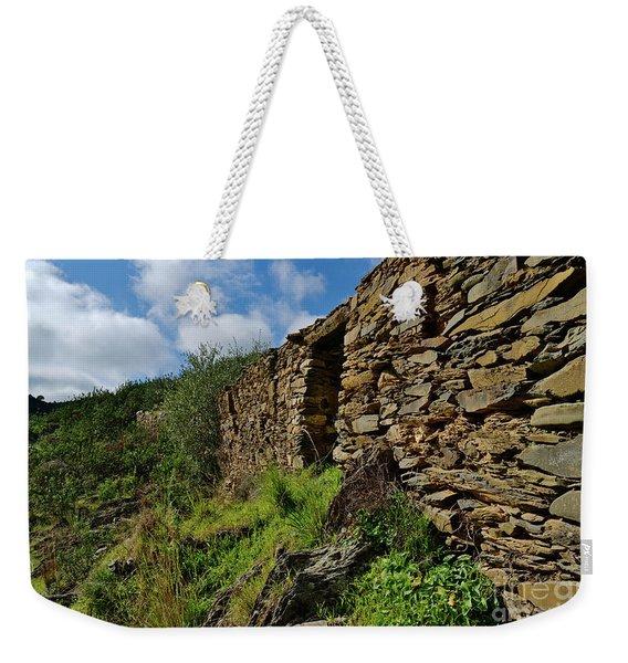Ruins Of A Schist Cottage In Alentejo Weekender Tote Bag