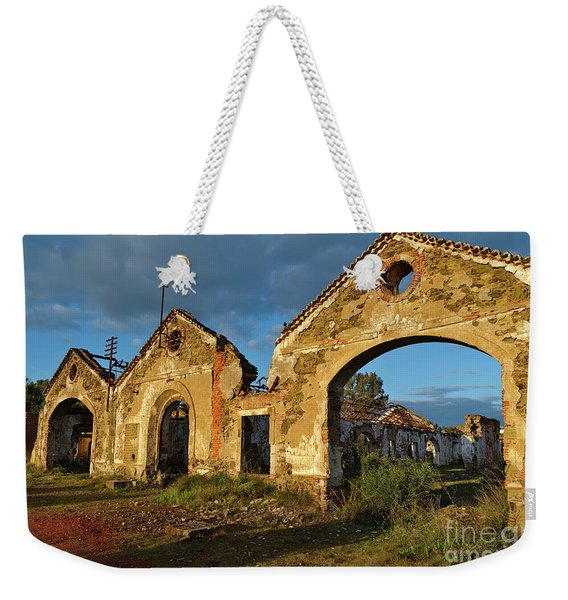 Ruins Of The Abandoned Mine Of Sao Domingos. Portugal Weekender Tote Bag