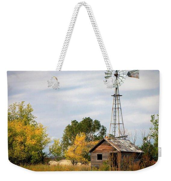 Rural North Dakota Weekender Tote Bag