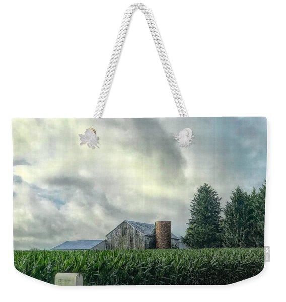 Rural Route Weekender Tote Bag
