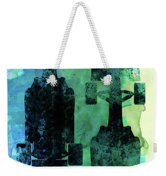 Rush Watercolor II Weekender Tote Bag
