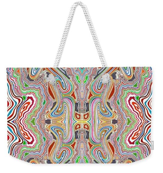 Rythmn And Flow Weekender Tote Bag