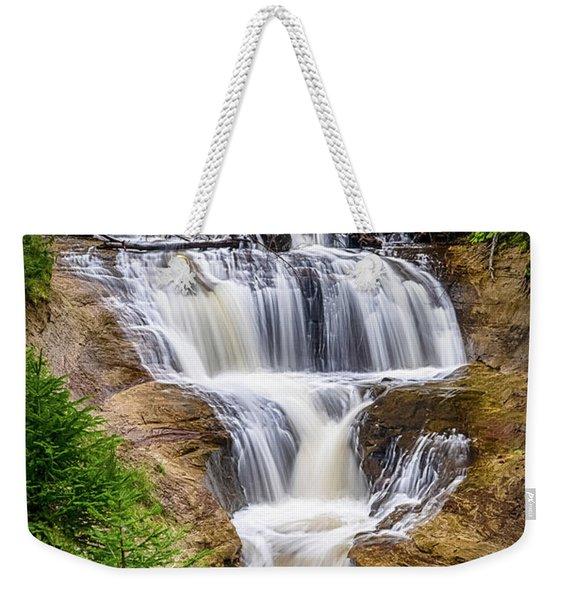Sable Falls Weekender Tote Bag