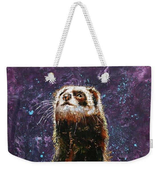 Sable Ferret Weekender Tote Bag