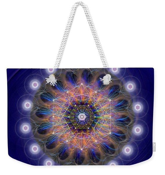 Sacred Geometry 726 Weekender Tote Bag