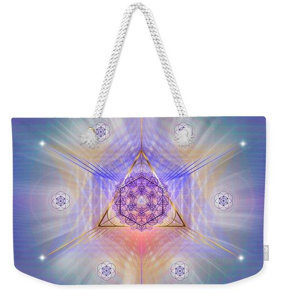 Sacred Geometry 734 Weekender Tote Bag