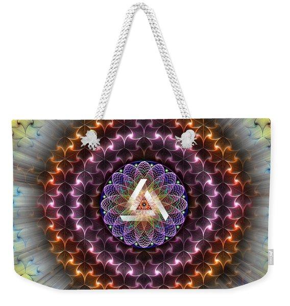 Sacred Geometry 742 Weekender Tote Bag