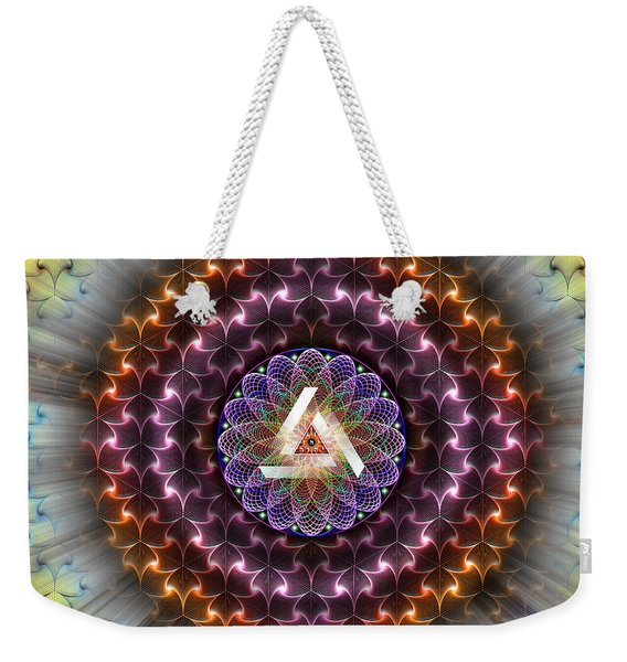 Sacred Geometry 742 Weekender Tote Bag