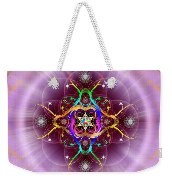 Sacred Geometry 757 Weekender Tote Bag