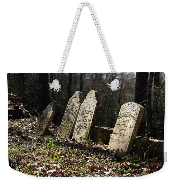 Sacred To The Memory Of Weekender Tote Bag