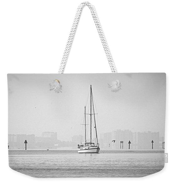 Sail Out Of Sarasota Weekender Tote Bag