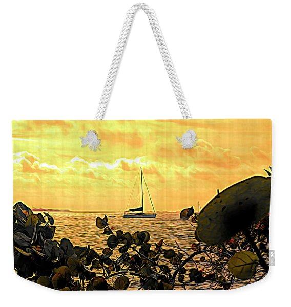 Sail The Manatee River Weekender Tote Bag
