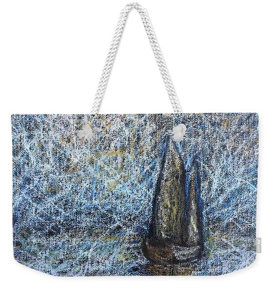 Sailboat In The Mist Weekender Tote Bag