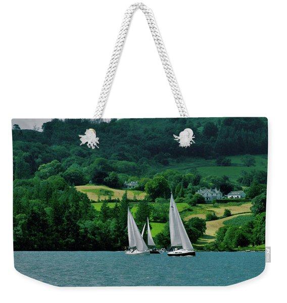 Sailing By Weekender Tote Bag