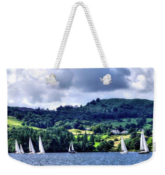 Sailing In Heaven Weekender Tote Bag