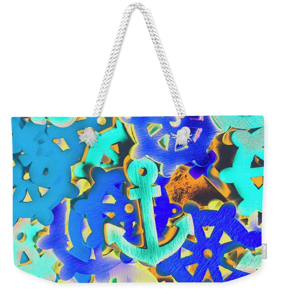 Sailing Pop Art Weekender Tote Bag