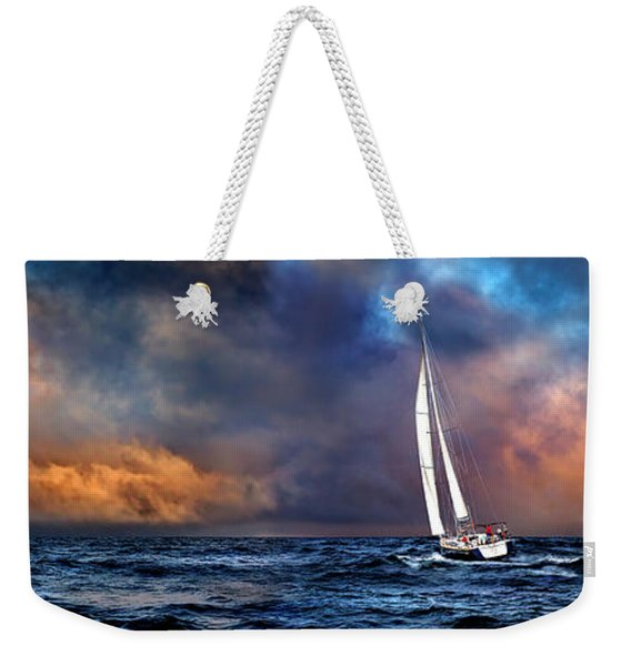 Sailing The Winedark Sea Weekender Tote Bag