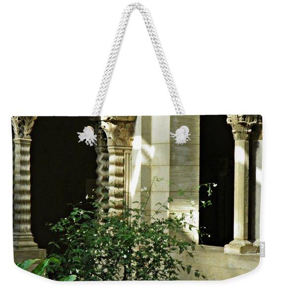 Saint- Guilhem Cloister Weekender Tote Bag